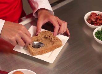 Recetas de cocina Canastas de pan tajado artesanal integral